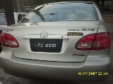 Photo Toyota corrola 2007 golden color for sale -...