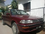 Photo Toyota Corolla 1988 red color for sale in...