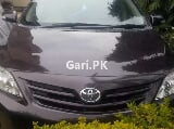 Photo Toyota Corolla GLI 2012 for Sale in Gujrat