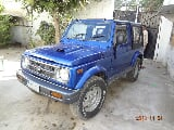 Photo Suzuki jeep 1992 blue color with vti engine for...