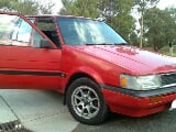 Photo Toyota 1986 registered 2003 red color for sale...