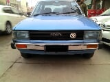 Photo Available Toyota Corolla G 1981 sky blue color...