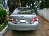 Photo Toyota corolla gli 2011 silver color for sale -...