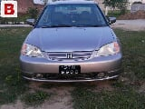 Photo 2002 honda civic 2nd ower excellent condition