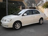 Photo Toyota Corolla SE Saloon Automatic 2003 for...