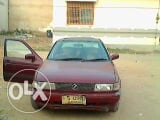Photo Nissan JX car Model 1993 1600cc EFI Engine