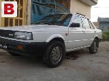 Photo Nissan sunny 1987 white