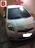 Photo Toyota vitz white